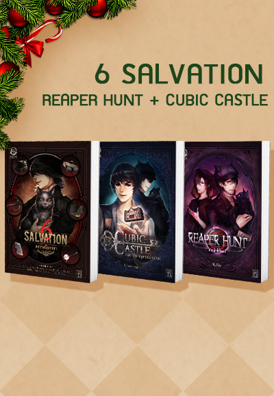 SET 6 Salvation + Cubic Castle + Reaper Hunt