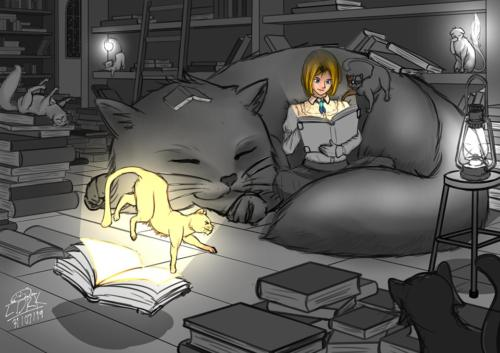 368 Librarian Cats
